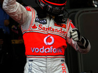 Kovalainen shines for McLaren with first F1 pole