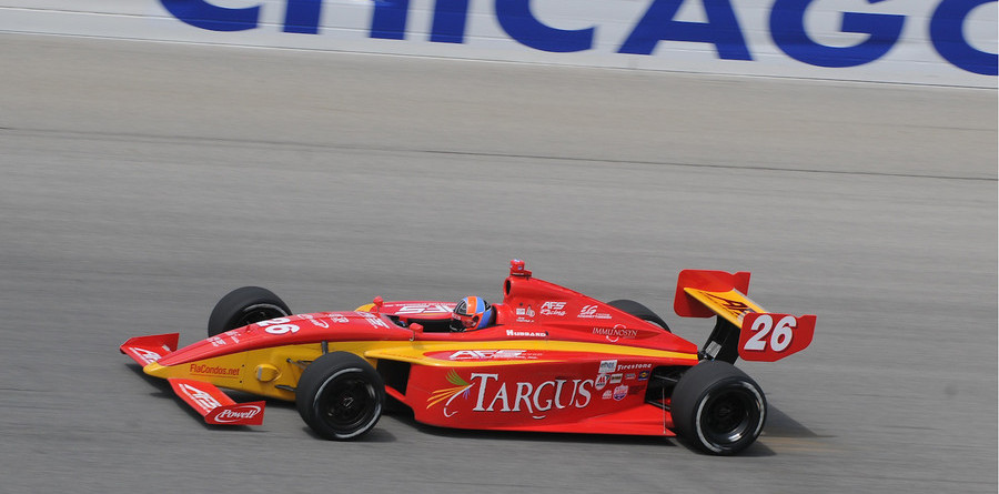 Luyendyk Jr wins at Chicago, Matos claims title