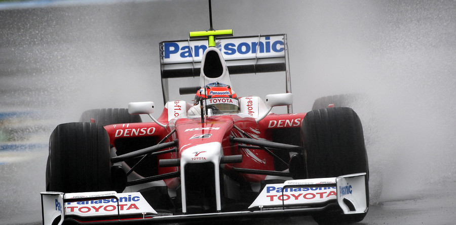 Glock, Toyota top wet test in Jerez