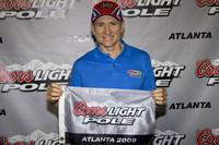 Martin turns back clock to capture Atlanta pole
