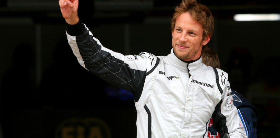 Button blasts to Spanish Grand Prix pole