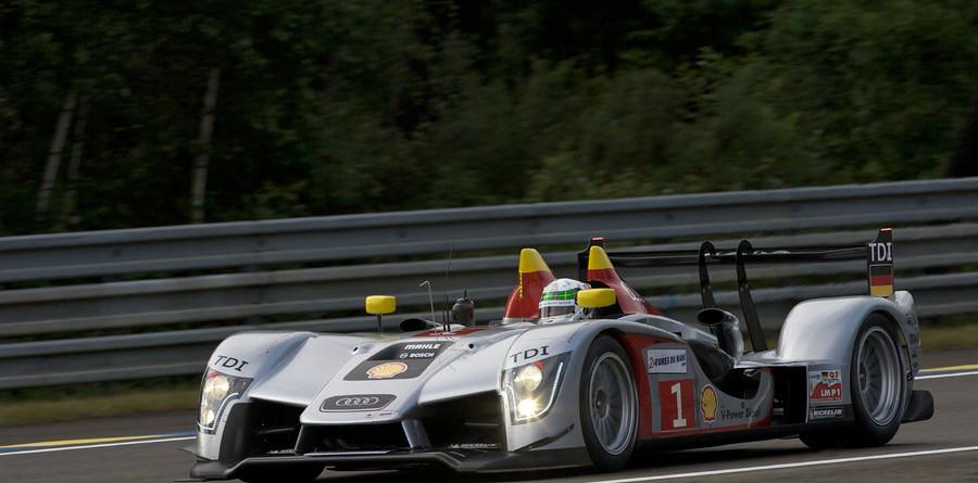 Wet practice in Le Mans dampens lap speeds