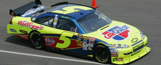 NASCAR Sprint Cup Martin makes IMS history, earns Brickyard pole