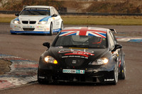 BTCC teams hit the track at Thruxton