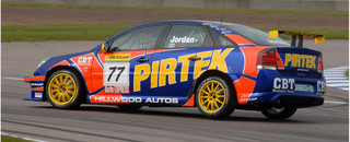 Jordan tops official testing at Rockingham
