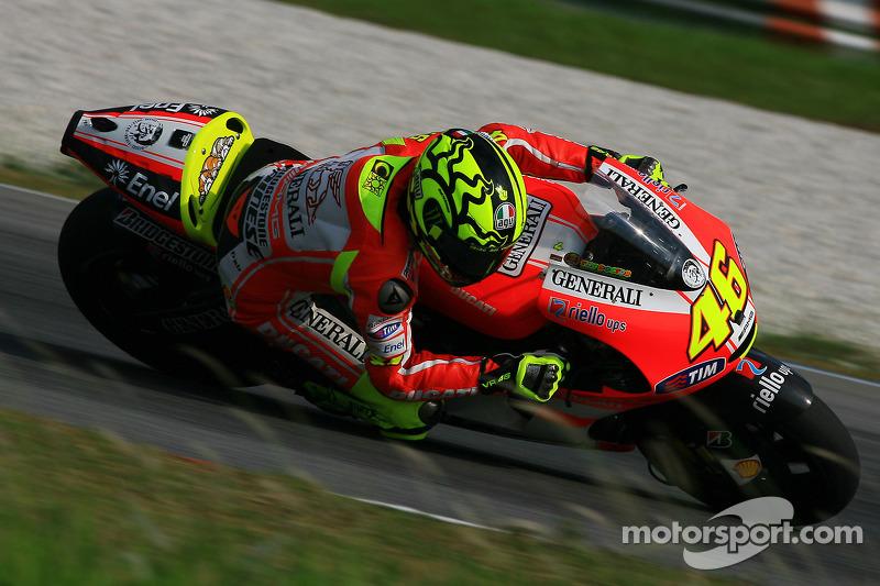 Ducati Sepang test, day 1 report