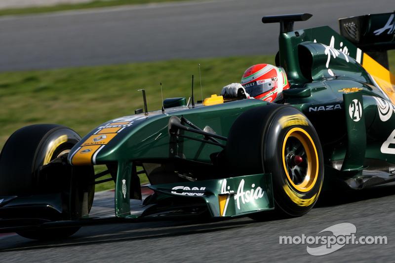 Team Lotus Barcelona test report 2011-03-09