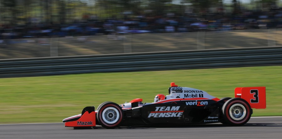 Team Penske Birmingham test notes 2011-03-15