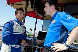 IndyCar Newman/Haas Racing Friday report