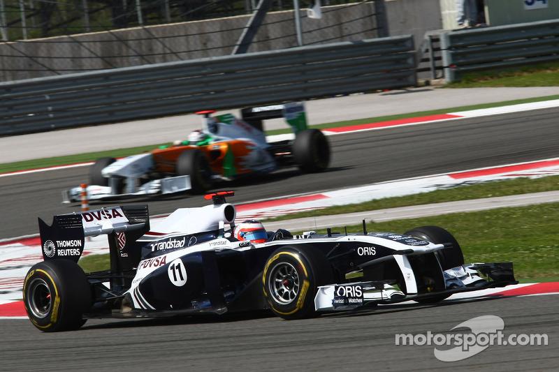 Turkish GP Williams Race review