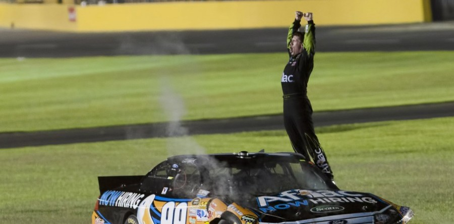 Edwards Claims His First Sprint All-Star Win at Charlotte