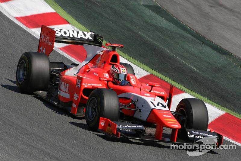 Arden Barcelona Race 1 Report