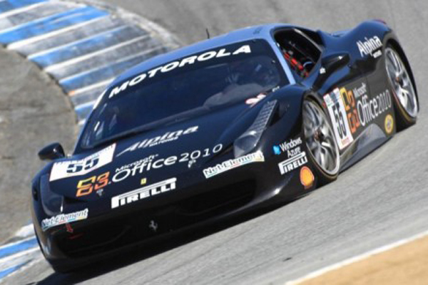 Scott Tucker Laguna Seca Weekend Summary