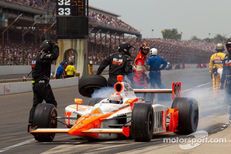 Firestone Indy 500 Race Report
