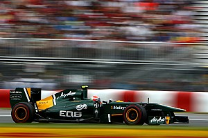 Team Lotus European GP - Valencia Qualifying Report