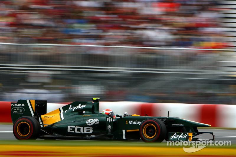 Team Lotus European GP - Valencia Qualifying Report