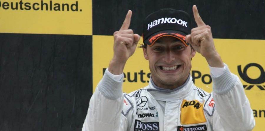 Spengler wins all wet DTM race at Norisring