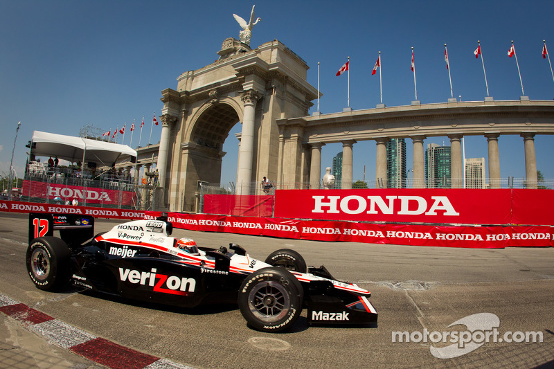 IndyCar Series Toronto Friday Report