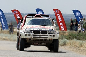 Cross-Country Rally BMW X-raid Dakar Series Silk Way Rally Day 2 Report