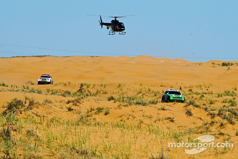 BMW X-Raid Dakar Silk Way Rally Stage 5 Report