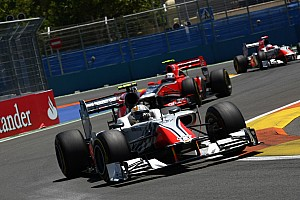 Formula 1 Renewed HRT F1 Team Looking Forward To German GP At Nurburgring