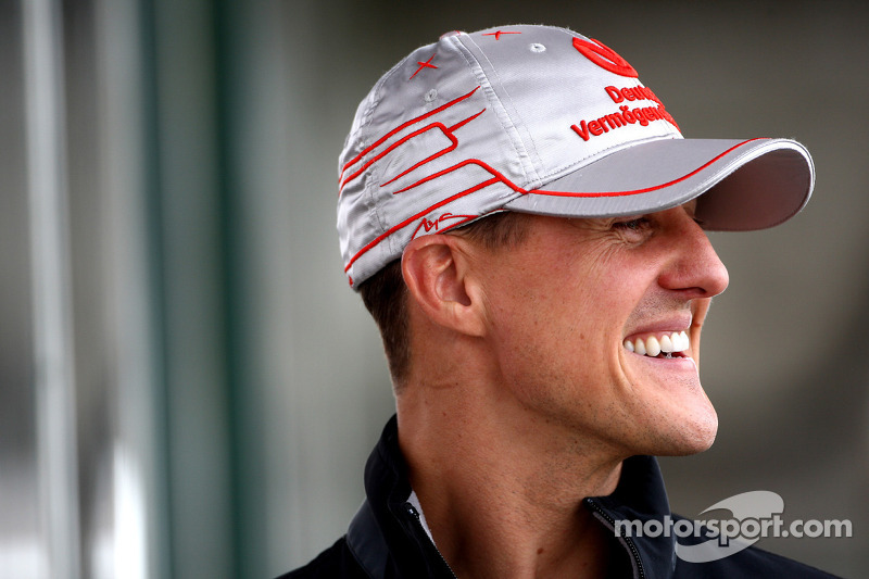 Schumacher Admits More 'Relaxed' Since Comeback