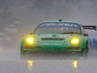 Porsche & Team Falken ALMS GT Victory At Mid-Ohio 