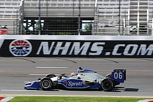 IndyCar Newman/Haas Racing Loudon test day report