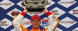 IndyCar Hunter-Reay ends up with Loudon win under red flag