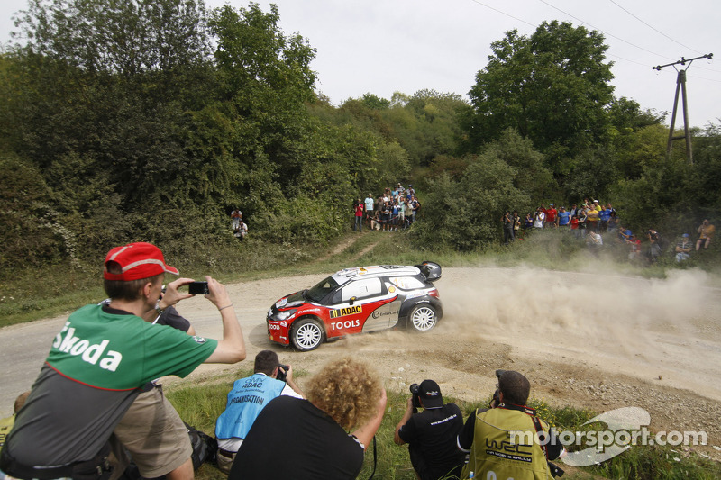 Petter Solberg Rally Deutschland leg 1 summary