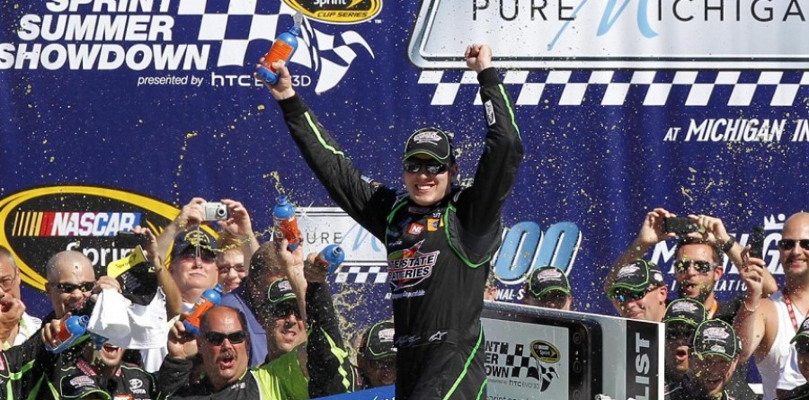 Kyle Busch gets Cup win at  Michigan