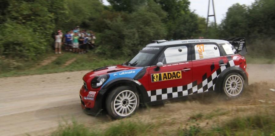 MINI takes first podium at Rally Deutschland