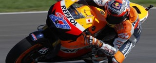 MotoGP Stoner quick in Indy GP saturday practice