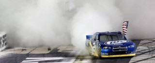 Keselowski Bristol II Sprint Cup race report
