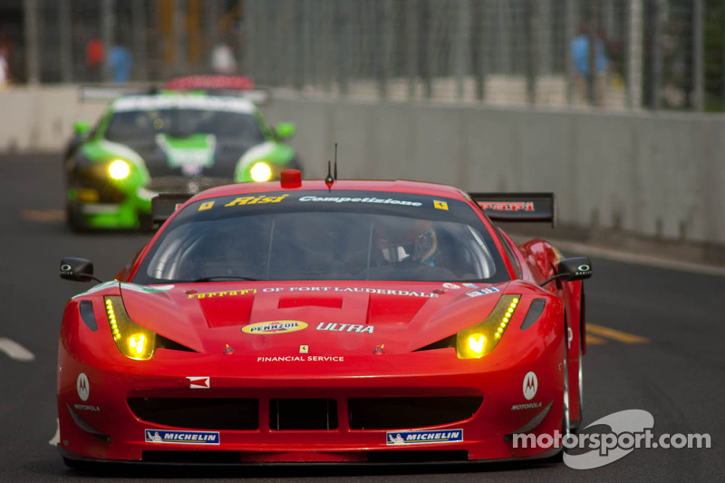 Risi Competizione Baltimore qualifying report