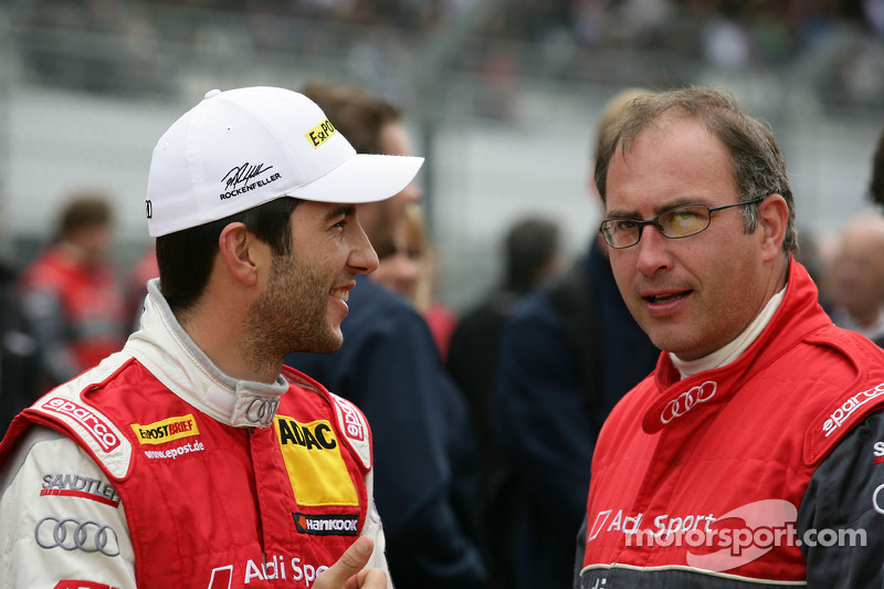 One-two-three result and lead of the standings for Audi