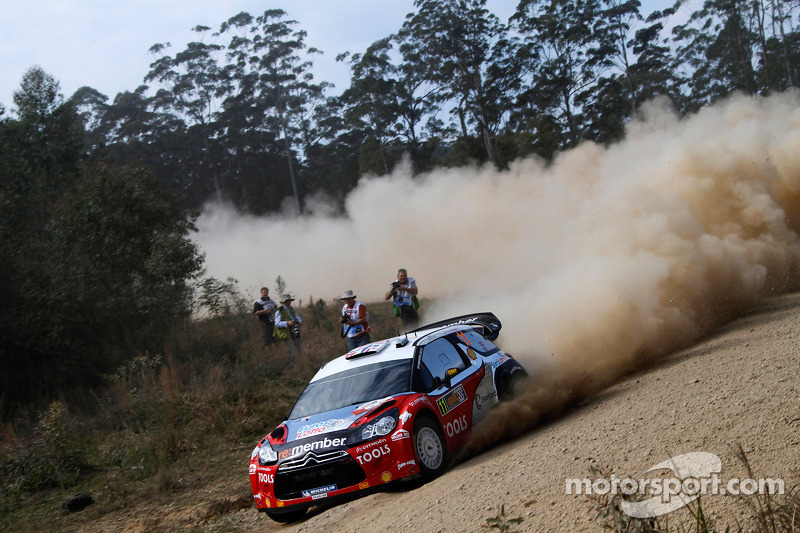 Petter Solberg Rally Australia leg 1 summary