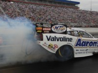 Beckman seeks points lead at Charlotte II