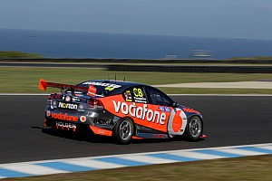 V8 Supercars TeamVodafone L&H 500 Friday report