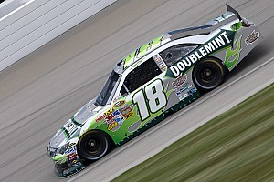 Kyle Busch Chicagoland race report