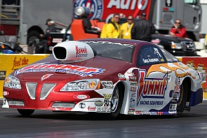 NHRA; Anderson Dallas Friday report
