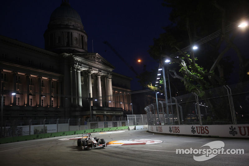 Sauber Singapore GP race report