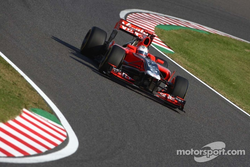 Marussia Virgin Korean GP - Yeongam qualifying report