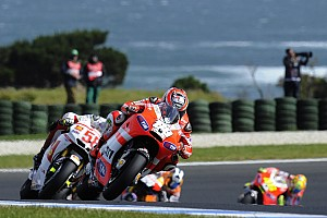 Ducati Australian GP race report