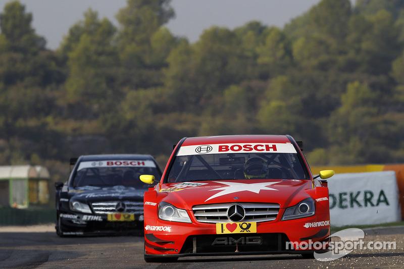 Van der Zande encouraged by progress in first DTM season