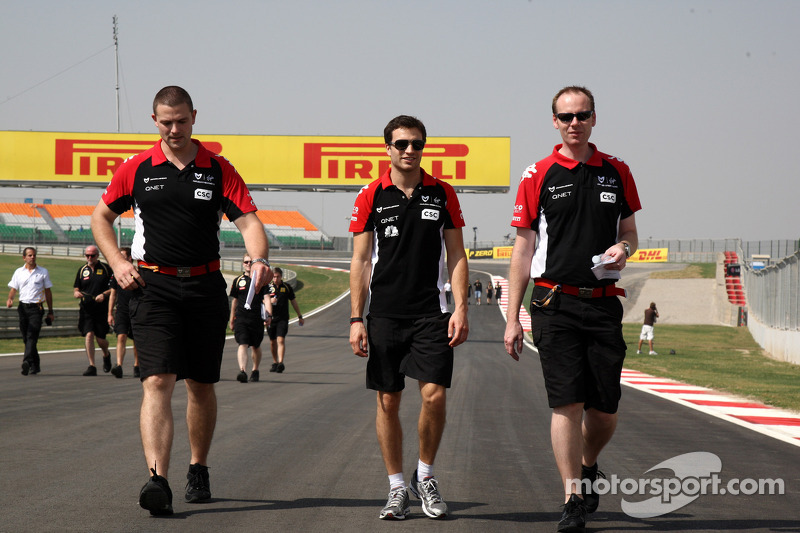 Marussia Virgin Indian GP Friday practice report