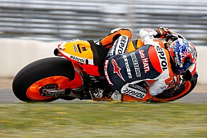 Repsol Honda Valencia test day 1 report