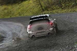 WRC Stobart Ford and MINI match pace in Wales Rally GB shakedown