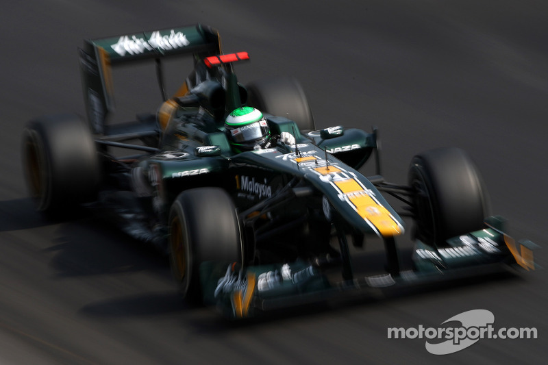 Team Lotus Abu Dhabi GP qualifying report