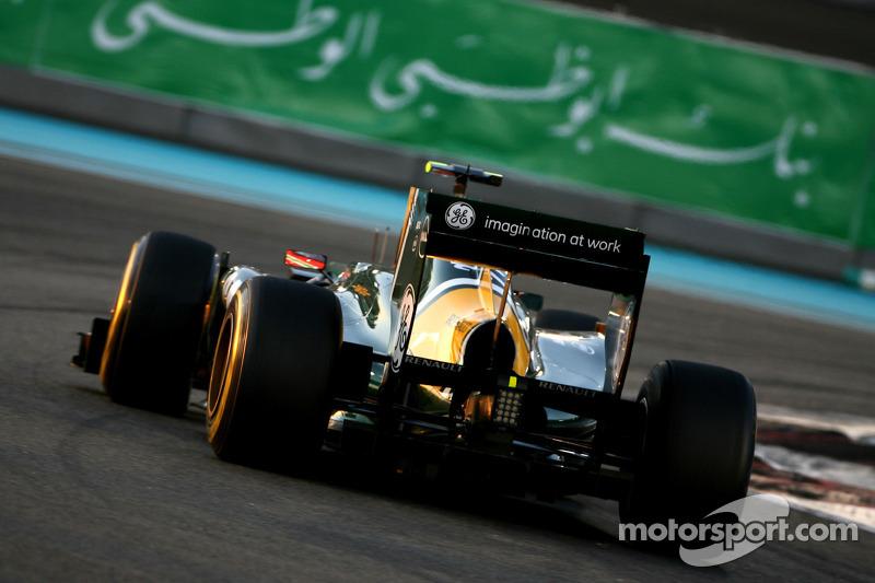 Team Lotus Abu Dhabi GP qualifying report